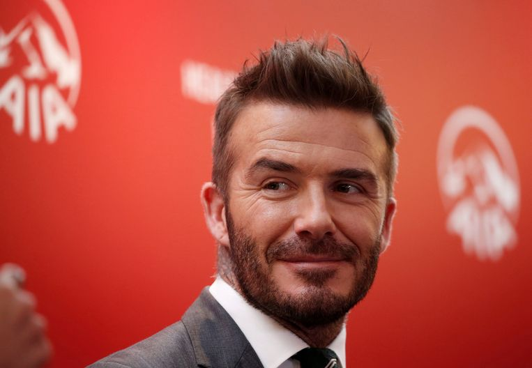 FILE PHOTO: David Beckham attends an insurance company charity event to encourage and assist young Indonesian soccer players around the country in Jakarta, Indonesia March 26, 2018.  REUTERS/Beawiharta/File Photo