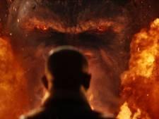 Model van filmaap fakkelt af tijdens première Kong Skull Island