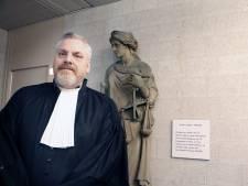 Bredase Peter Schouten nieuwe advocaat van kroongetuige Nabil B, hij en Peter R. de Vries geven persconferentie over ontwikkeling in zaak Taghi