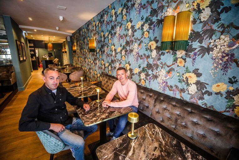 Jeroen Van Driessche en Jimmy Sper openden in Knokke bistro Boudoir