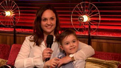 """Davina uit 'Blind Gekocht' is niet langer single: """"Hij leert m'n zoon fietsen"""""""