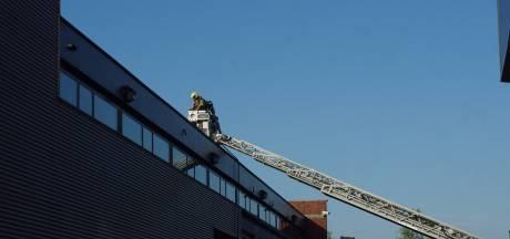 Ventilator op dak IJsselsteinse slachterij raakt in brand