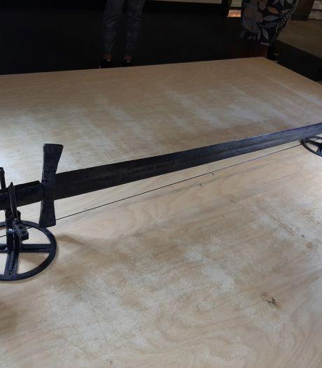 Groot zwaard van negenhonderd jaar oud gevonden in Nieuwegein
