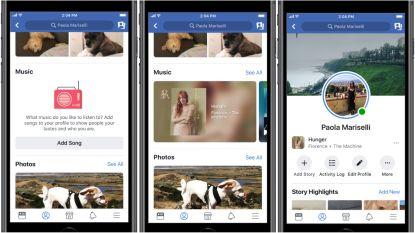 Nieuw op Facebook: zo neem je playbackvideo's op en voeg je muziek toe aan je profiel en je Stories