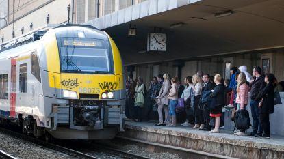 Treinverkeer tussen Brussel-Noord en Schaarbeek hersteld, maar hinder blijft groot
