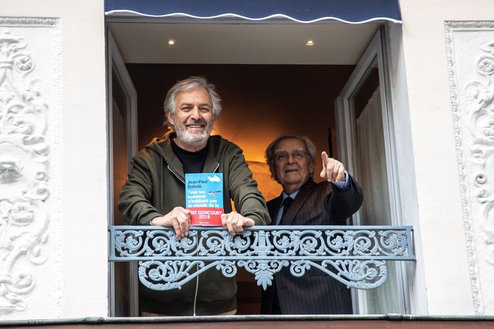 Jean-Paul Dubois et Bernard Pivot.