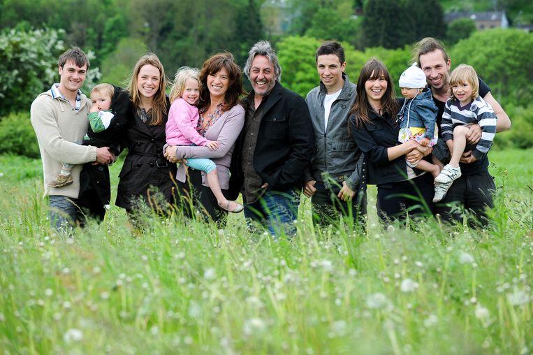 De familie Planckaert ten tijde van de realityreeks