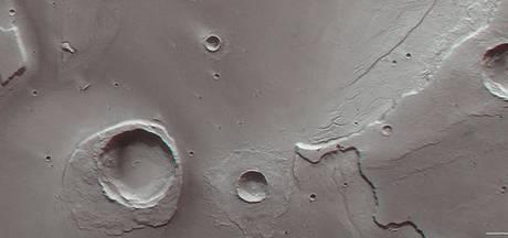 ESA deelt beelden van gevolgen megavloedgolf op Mars