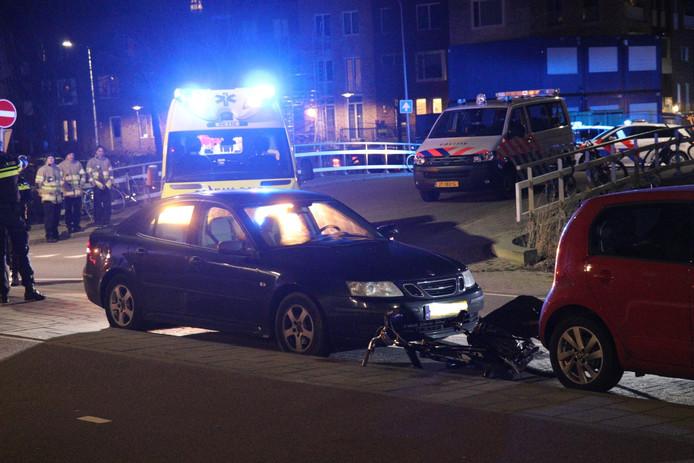 Deze maand raakte op de Sartreweg in Utrecht een fietser ernstig gewond.