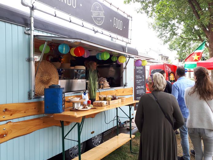Eerste Food Truck Festival Oss.