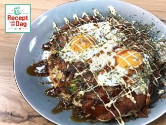 Recept van de dag: Okonomiyaki Hiroshima style