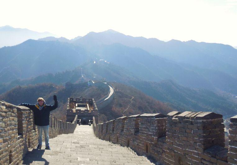 Op de Chinese muur