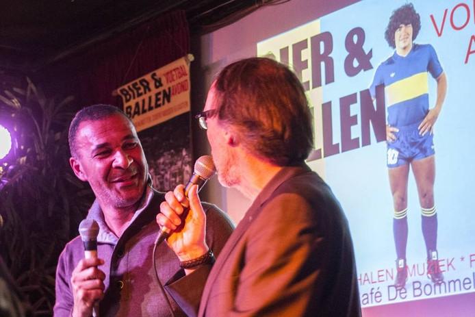 Ruud Gullit was bij een eerdere editie te gast bij Bier en Ballen.