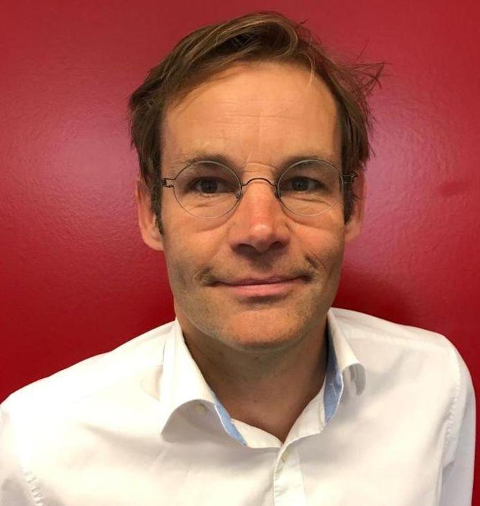 Harjo Bijleveld, bestuurslid van Landstede Hammers.