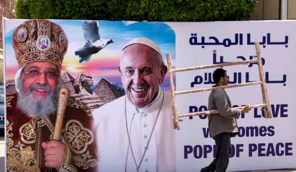 Het bezoek van de paus aan Egypte is een mijnenveld