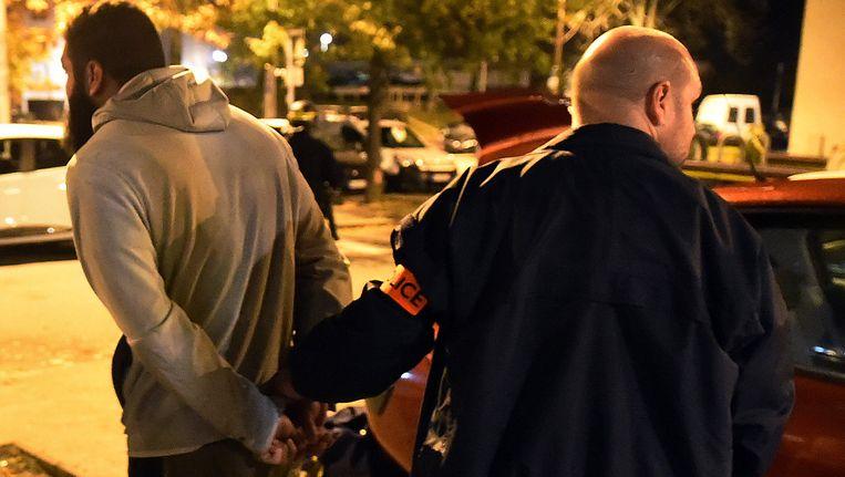 Een die werd aangehouden in Toulouse deze ochtend.
