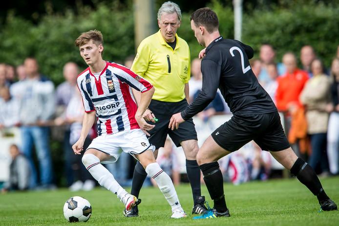 Willem II voetbalde tegen Loon op Zand.