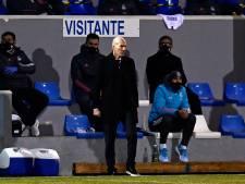 Zidane verdedigt spelers na bekerblamage Real Madrid: 'Geen schande, was pijnlijke avond'