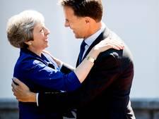Rutte ontbijt met Britse premier May voor overleg over brexit-deal