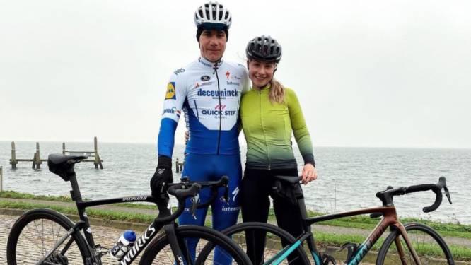 """Fabio Jakobsen zit weer op de fiets: """"Het is tot dusver nogal een tocht geweest"""""""