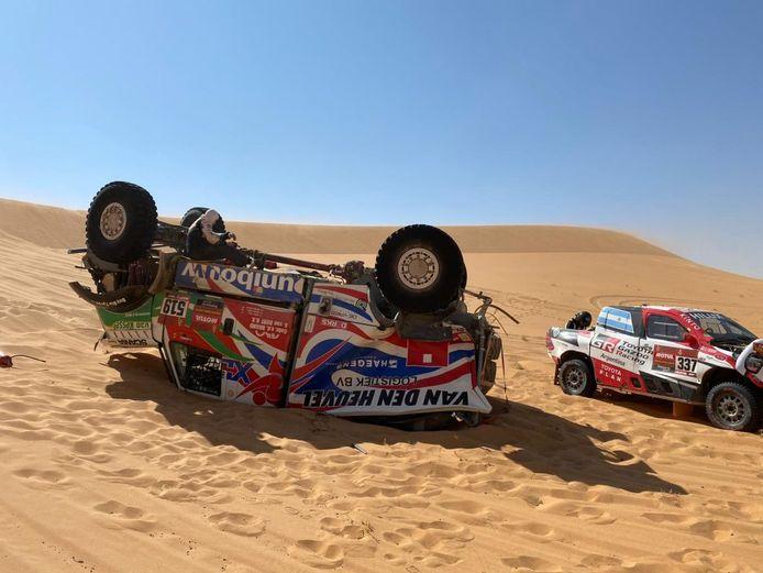 Team Dakarspeed valt uit in de Dakar Rally 2021