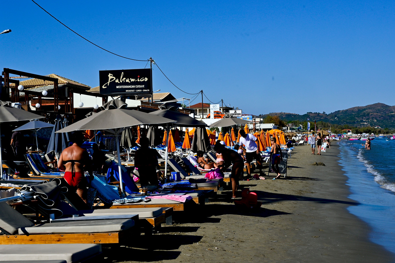 Strand op Zakynthos.