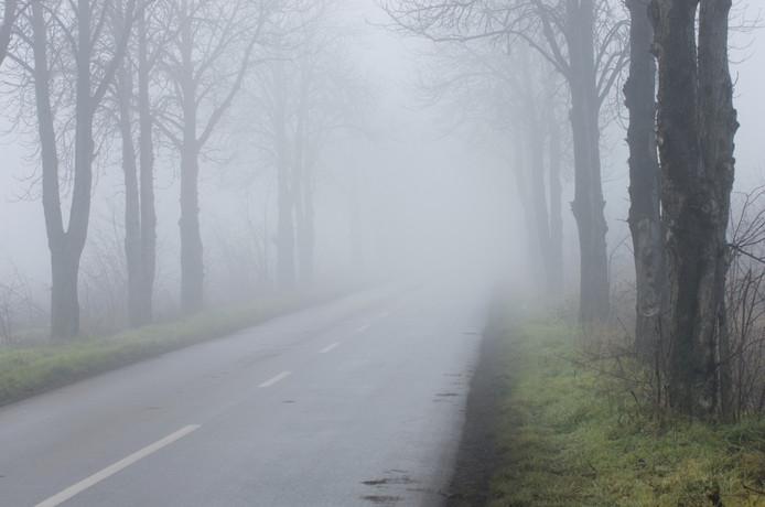 De mist in het zuiden kan hardnekkig zijn.