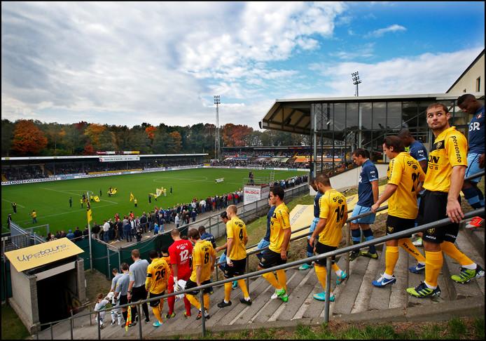 De legendarische trap van stadion De Koel.