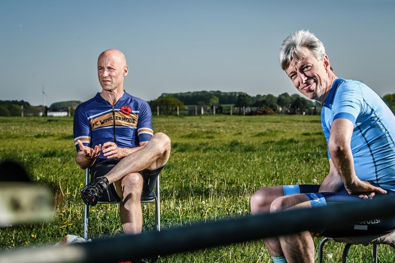 Geert Meyfroidt en Geert Noels Beeld Geert Van de Velde