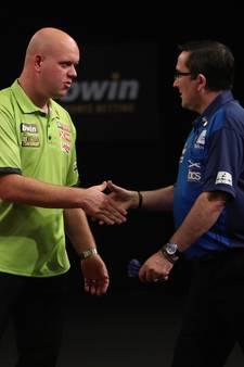 Van Gerwen en Van Barneveld overtuigen op Grand Slam of Darts