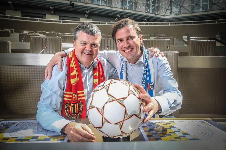 Mathias De Clercq en Bart Somers strijden om de Beker