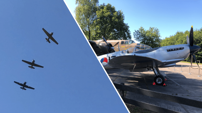 In juni vierde de Historische Vlucht  van de Koninklijke Luchtmacht op vliegbasis Gilze-Rijen haar 50-jarig bestaan. Behalve veel plezier geven de oude vliegtuigen ook veel overlast.