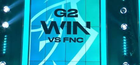 G2 Esports vernedert Fnatic in knotsgekke Europese League of Legends-competitie
