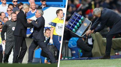 Van ruzie met Vercauteren tot verstoppertje in wasmand: de meest memorabele fratsen van José Mourinho