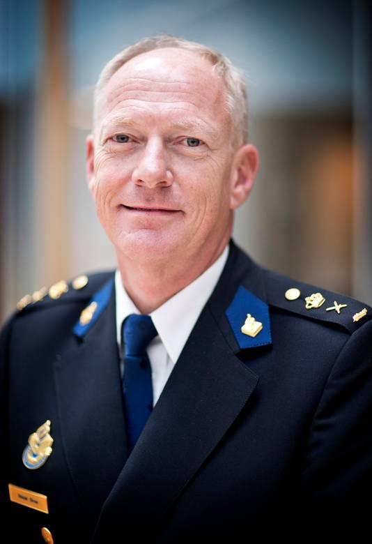 Politiechef Oscar Dros .