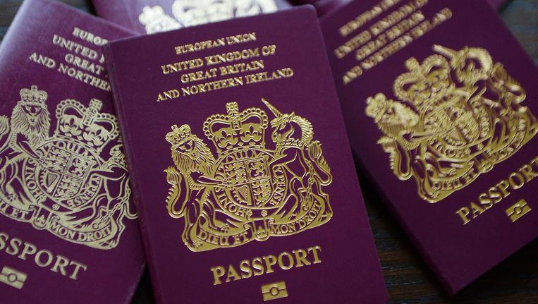 Britse paspoorten. Beeld epa