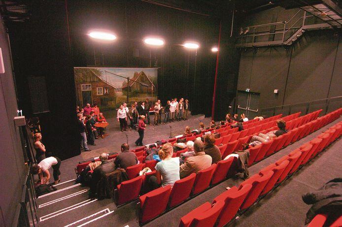 In 2007 stond de Haaksbergse Revue voor het eerst in Theater de Kappen. Voor het eerst staan ze er nu niet.