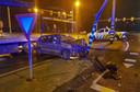 De gestolen auto is teruggevonden in Oisterwijk. Daar was toen niet meer veel van over.