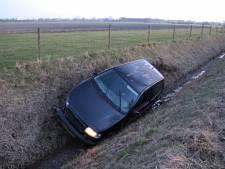 Automobilist gewond na ongeval in Kapelle