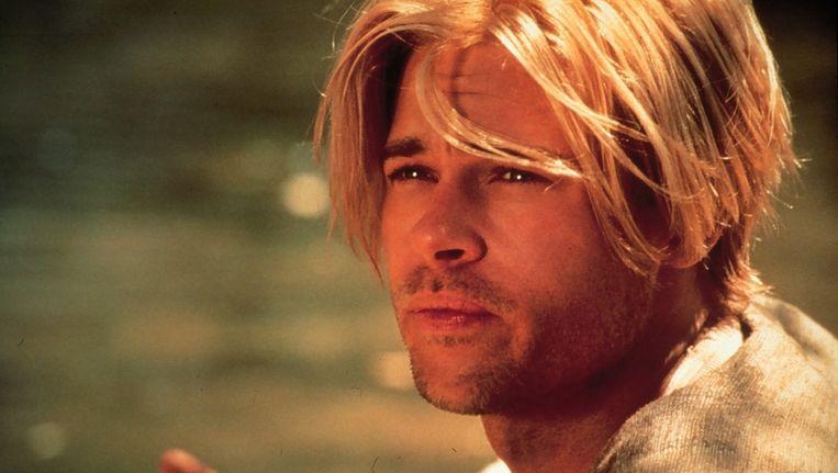 Brad Pitt in Seven Years in Tibet Beeld ANP