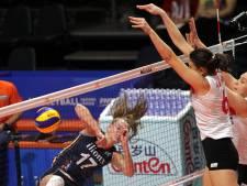 Volleybalsters ook onderuit tegen Turkije in Nations League