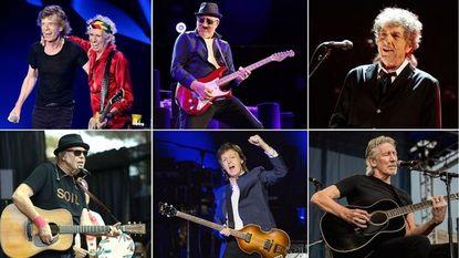 Rolling Stones, The Who, Bob Dylan, Neil Young, Paul McCartney en Roger Waters op megafestival
