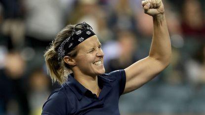 Kirsten Flipkens treft topreekshoofd Kerber in kwartfinales van Monterrey