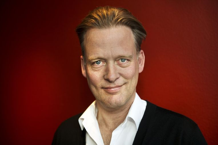 Erik Jan Harmens, dichter Beeld Sanne De Wilde