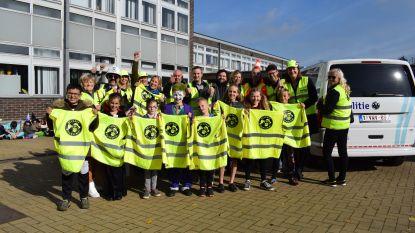 Zelzate Geweldig laat opnieuw van zich spreken: 800 scholieren voortaan 'geweldig' veilig naar school