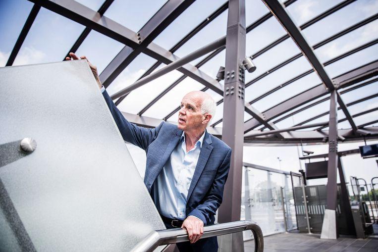 Geert Dales: 'Ik sta niet als voorzitter van 50Plus met één been in een andere partij.' Beeld Aurélie Geurts