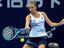 Pliskova gaat in Zhengzhou voor vierde toernooizege van het jaar