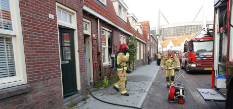 Woningbrand in Henriëttestraat Eindhoven snel geblust