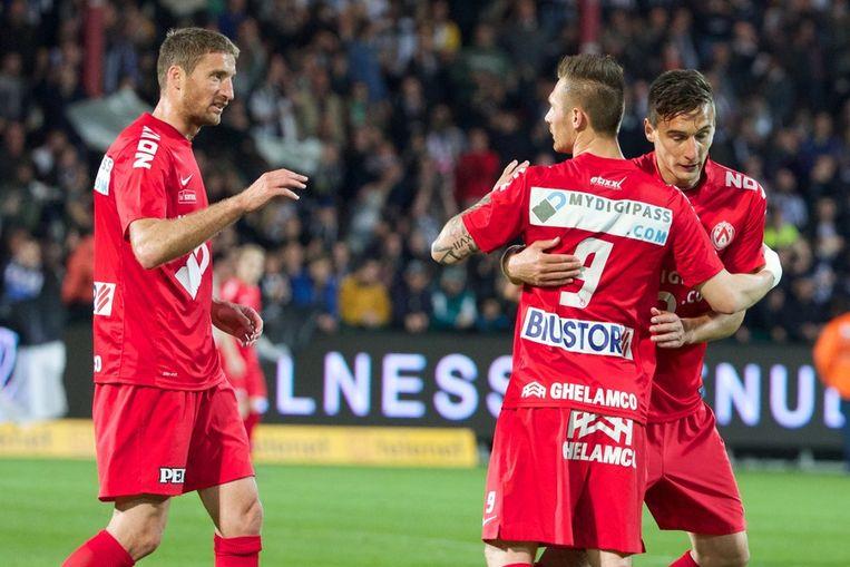 2. Teddy Chevalier, de 2-1 in Kortrijk - Charleroi.