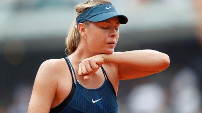 Muguruza veegt de vloer aan met Sharapova in kwartfinale op Roland Garros, nu wacht Halep